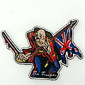 Iron Maiden - Patch - Iron Maiden  shaped Trooper patch  100