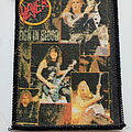 Slayer - Patch - Slayer old printed reign in blood patch 90