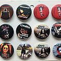 Ozzy Osbourne - Pin / Badge -  Ozzy Osbourne + Marilyn Manson new buttons 3.1 cm   b41