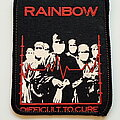 Rainbow - Patch - Rainbow old 80's printed patch r141