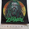 Rob Zombie - Patch - Rob Zombie zombie face patch z18