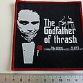 Slayer Tom Araya  Godfather of thrash patch 81    red border