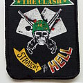 The Clash - Patch - The Clash  1982   straight to hell patch c293