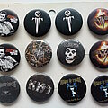 Johnny Cash - Pin / Badge - various new buttons 3.1 cm   b42