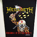 Megadeth 1988 official backpatch killing is my business bp516 patch
