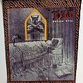 DIO   dream evil 1987 backpatch bp331--- 38x31x29 patch