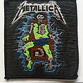 Metallica - Patch - Metallica ride the lightning 1984 patch used703