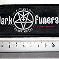 Dark Funeral patch swedish black metal 2004