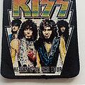 Kiss - Patch - Kiss  1984 heavens on fire tour patch 131
