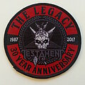Testament - Patch - TESTAMENT   the legacy 1987-2017 patch t183