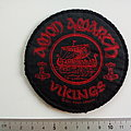 Amon Amarth vikings patch used476
