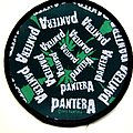 Pantera  1993 weed   patch new P78 9.5 cm