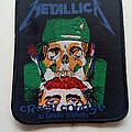 Metallica - Patch - Metallica 1987 Crash Course in Brain Surgery patch 317 --- 8x10 cm