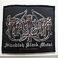 Marduk - Patch - Marduk official 2001 swedish black metal patch  used724