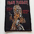Iron Maiden - Patch - Iron Maiden  1981 Killer world tour patch 201