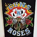 Guns N' Roses official 1991 vintage backpatch bp509