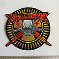Megadeth shaped patch 62