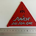 Raven - Patch - Raven all for one 1983 patch r133 red border