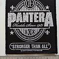 Pantera - Patch - Pantera stronger than all patch p160
