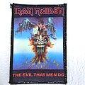 Iron Maiden - Patch - IRON MAIDEN  1988 patch 133  - 7.5x10.5 cm