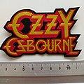 Ozzy Osbourne shaped patch 48
