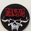 Danzig - Patch - Danzig classic skull patch 49