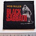 Black Sabbath - Patch - Black Sabbath 1982 mob rules patch 77