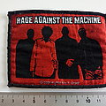 Rage Against The Machine - Patch - Rage against the machine silhouettes patch official 2005 used477