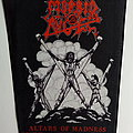 Morbid Angel altars of madness 1991 backpatch bp475   patch official