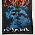 Pantera - Patch - Pantera far beyond driven  2018  patch p190