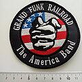 Grand Funk Railroad - Patch - Grand Funk Railroad misprinted patch