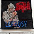 Death - Patch - DEATH  leprosy 2009  patch d41 new 10.5 x 10 cm