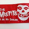 Misfits patch 40 die die my darling  8 x 13.5 cm