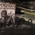 Godhole/Crozier - Anthrophobia Cassette Tape / Vinyl / CD / Recording etc