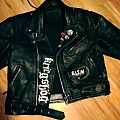 Uppdated front of the leather Battle Jacket