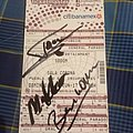 Sodom signed ticket