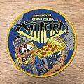 Mutard - Patch - Mutard Inhuman Inebriation Woven Patch (Yellow border, lim. 45 pcs.)
