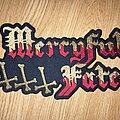 Mercyful Fate - Patch - Mercyful Fate logo embroidered back patch