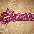 Saxon - Patch - Saxon logo embroidered back patch