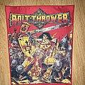 Bolt Thrower - Patch - Bolt thrower war master woven back patch