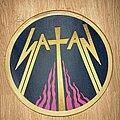 Satan - Patch - Satan woven back patch