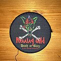 Running Wild - Patch - Running Wild death or glory circle patch