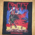 Cancer - Patch - Cancer Death shall rise woven back patch