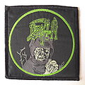 Death Leprosy Green Circle Bootleg Patch