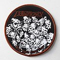 Lobotomy Round Woven Patch