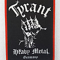 Tyrant - Heavy Metal Germany Patch