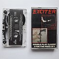 Exciter - Violence & Force Cassette + Heavy Metal Maniac Cassette