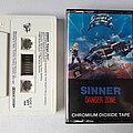 Sinner - Danger Zone Cassette