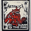 Metallica - Jump in the Fire Rubber Patch