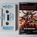 Living Death - Metal Revolution Cassette NEW